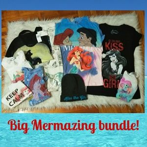 Little mermaid tops